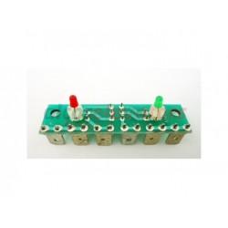 PCB ORONA 6-24V 1LED RED + 1 LED GREEN