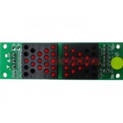 PLACA ORONA FLECHAS LED EMBOCADURA (24V-COM:24V