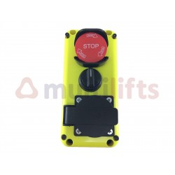 BUTTON BOX 3 COMPONENTS (STOP+ SWITCH + PLUG) B3M0C004