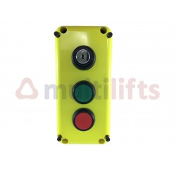 BOX REARMAMENT LIMITER WITH KEY AND 2 PUSH BUTTONS B30A-S1