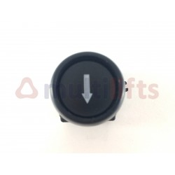 PUSH BUTTON BLACK ARROW CONTACT OPPB06D0