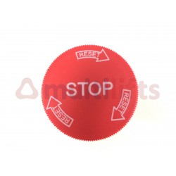 PUSH BUTTON STOP LAY5-ES542 ME012RS0