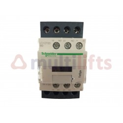 CONTACTOR SCHNEIDER 4P 20A AC1 1NA/1NC 24VDC LC1DT20BD