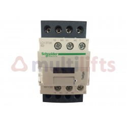 CONTACTOR SCHNEIDER 4P 20A AC1 1NA/1NC 48VDC LC1DT20ED