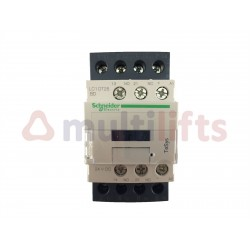 CONTACTOR SCHNEIDER 4P 25A AC1 1NA/1NC 24VDC LC1DT25BD