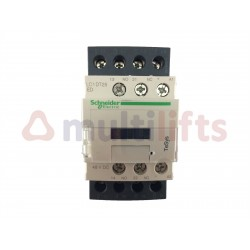 CONTACTOR SCHNEIDER 4P 25A AC1 1NA/1NC 48VCC LC1DT25ED