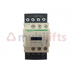 CONTACTOR SCHNEIDER 4P 32A AC1 1NA/1NC 24VDC LC1DT32BD