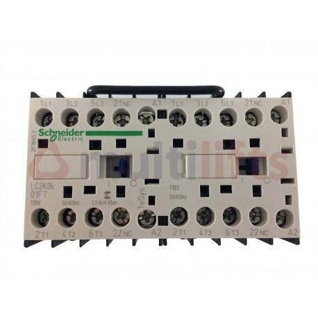 CONTACTOR SCHNEIDER 3P AC3 400V 6A 1NC 110VAC LC2K0601F7