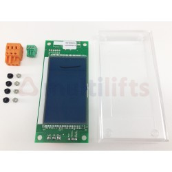DISPLAY AZYUL EM2LCD VERTICAL INCLUYE METACRILATO