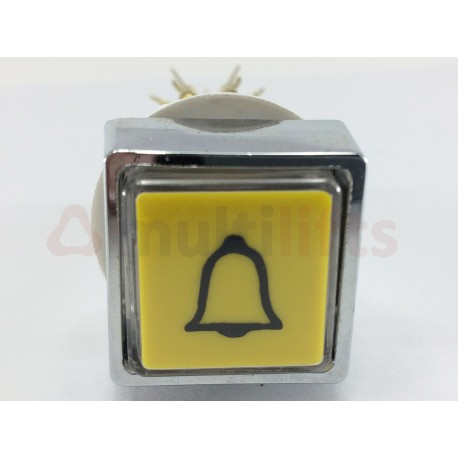 "DOUBLE CONTACT PUSHBUTTON ""ALARM"""