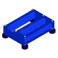 LOW BEDFRAME MACHINE GEM HW134 3 RIGHT SUPPORTS