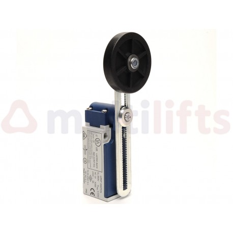 LIMIT SWITCH EMAS RUBBER ROLLER 50MM 1NC+1NA CABLE ENTRANCE PG13 L5K13MEL123