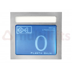 DISPLAY EDEL LCD 5'7 INCHES BLUE