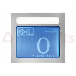DISPLAY EDEL LCD 5'7 PULGADAS AZUL