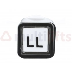 PUSHBUTTON ALJO QBP (LL) 110 V LED