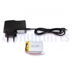 INSTALLATION KIT (2 WIRES). INCLUDES POWER SUPPLY + BATTERY. NETEL.