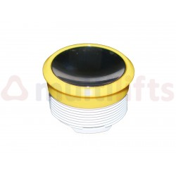 PUSHBUTTON OTIS ALARM 12V CHROME