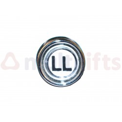 "PUSH BUTTON ROUND BISEL LOW MOD. PD17 ""LL"""