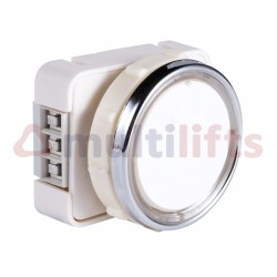 PUSHBUTTON JMT J3 1 CONTACT WITH BLUE LIGHT 24V SETA
