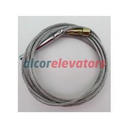 CABLE APERTURA THYSSEN C-91 C PL 700 L2325 10076650