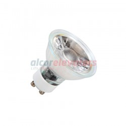 LAMPARA LED GU10 COB CRISTAL 220V 5W BLANCO CALIDO 3000K