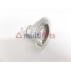 LED LAMP GU10 COB CRYSTAL 220V 5W WHITE COLD LAMPGU