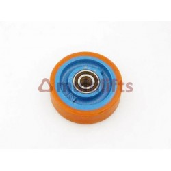 ROLLER - 125MM DIA, 38MM WIDE, 20MM O/D BEARING, FOR 2000H/MRL CAR OTIS