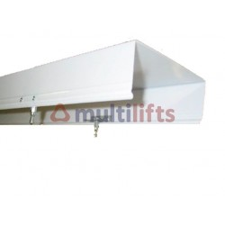 DIFFUSER - 1098MM L X 175MM W, W/O SPECIAL FIXING NUTS, FOR FLUORESCENT LIGHTING ON OTIS2000
