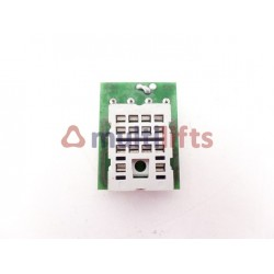ADAPTADOR BASE RELAY AGUT 1641 MEYEL (4 CONT)