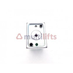 PUSH BUTTON SQ2 BRIGHT (GREEN / YELLOW) 2 CONTACT