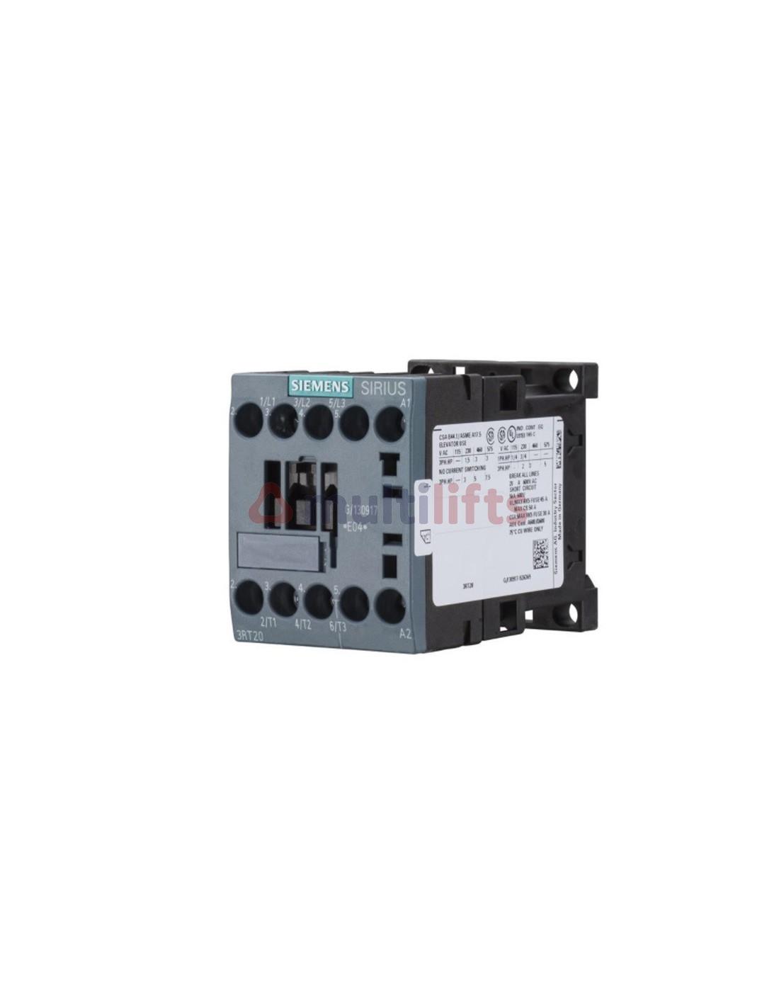 Contactor Siemens 3p Ac3 4kw 24vdc