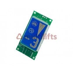 DISPLAY EM2LCD LCD BLUE 2001006