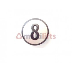 CARATULA PULSADOR CAB 8 KSS KONE KM801054G008
