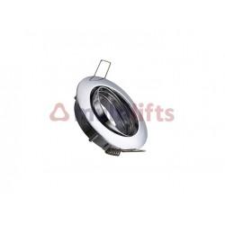 ARO BASCULANTE CIRCULAR LAMP LED CROMADO