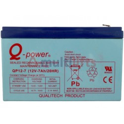 BATTERIE OTIS 12V 7AH L: 151X65X100 MM