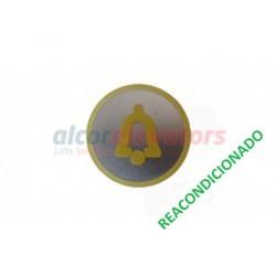 CARÁTULA PULSADOR CABINA ALARMA KSS (REACONDICIONADO) KONE KM801054G080