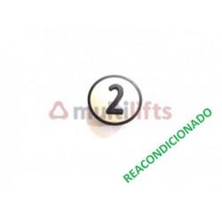 CARATULA PULSADOR CAB 2 KSS KONE (REACONDICIONADO) KONE KM801054G002