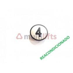 CARATULA PULSADOR CAB 4 KSS KONE (REACONDICIONADO) KONE KM801054G004