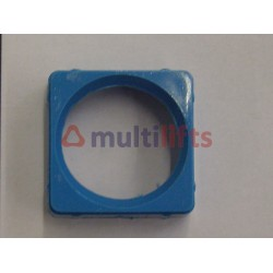 ADAPTOR SQUARE BLUE KEYSWITCH OTIS EUROPA 2000 F0396BL1