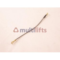 BRAID CONDUCTOR SILICONE 5 3/4 INCH LONG, FOR 9698A SHAFT SWITCH & A6164BP RELAY OTIS O-521C