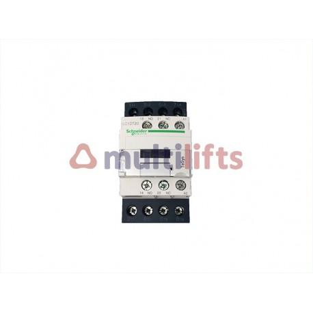 CONTACTOR SCHNEIDER 4P 20A AC1 1NA/1NC 110VAC LC1DT20F7