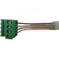CONVERTER ORONA 4 POLES PASS FROM 5,08 TO 2,54