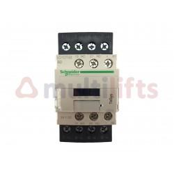 CONTACTOR SCHNEIDER 4P 32A AC1 1NA/1NC 24VDC LC1DT32BD
