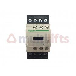 CONTACTOR SCHNEIDER 4P 32A AC1 1NA/1NC 230VAC LC1DT32P7