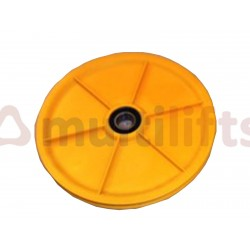 TENSION WEIGHT PULLEY KONE D198MM PA66 GBF3515