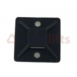 BASE 20X20 FOR BLACK FLANGES BAG 100 UNITS