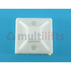 BASE 19X19 FOR WHITE FLANGES BAG 100 UNITS