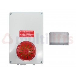 POWER SUPPLY UNIT AKO 5409A 230V ALARM WITH SIREN OUTPUT 12V ( ALARM ) AKO-5409A