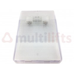 SURFACE PANEL AKO 54061 WITH 2 12 V LAMPS
