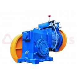 REDUCER MACHINE SASSI S3 VF 630KG 1M/S 7,3 KW PULLEY 560x4x10 BRAKE 110V LEFT